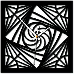 Stylesa - Modernes Wanduhr-Mosaik-Plexiglas und schwarzes X0082
