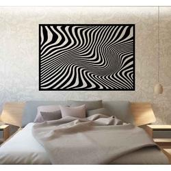 Sentop - Dekoratives Gemälde an der Wand eines Zebrase