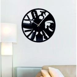 SENTOP - Moderne Wanduhr für den OMARR Salon und den schwarzen X0098