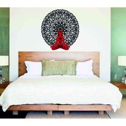 Sentop - 3D Bild an der Wand Buddha im Mandala 50, 70, 90 cm