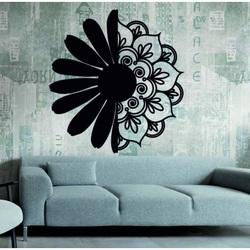 Sentop - Wandmalerei Blume MARGARET