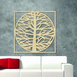 Sentop - Bild an der Wand eines Baumes in einem Rahmen  MRLVEN A