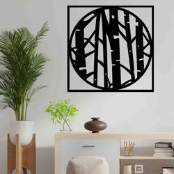 Stylesa - Moderne Wandmalerei aus Sperrholz LLUTF PR0380-A