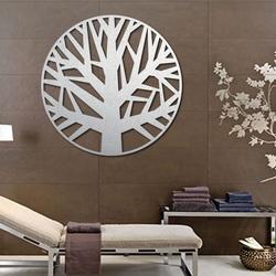 Sentop - Holz gemälde an der Wand eines Baumes aus Sperr holz HOGGFOG
