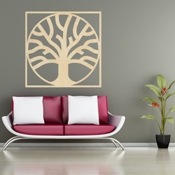 Sentop - Moderne Malerei an der Wand, Holz dekoration Holz dekoration MOARKO