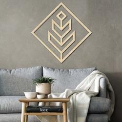 Modernes Gemälde an der Wand - Holz dekoration quadratisch DALYO   SENTOP