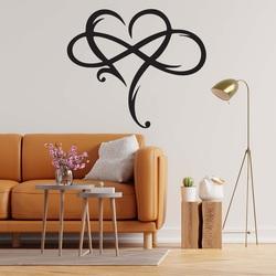 Sentop - Holzgemälde an der Wand der unendlichen Liebe