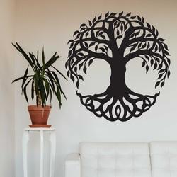 Moderne Holzwandmalerei aus Pappelsperrholz FIORA