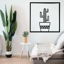 Moderne Malerei an der Wand - KAKTUS ARYO | SENTOP