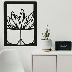 Vyřezávaný obraz na stěnu - KAKTUS TEDENS | SENTOP
