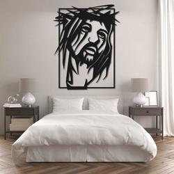 Vyrezávaný obraz s náboženským motívom - JEŽIŠ KRISTUS   SENTOP