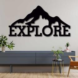 Bild aus geschnitztem Holz - EXPLORE | SENTOP