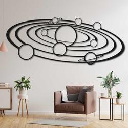 Moderne Malerei an der Wand Sonnensystem -  SOLAR | SENTOP