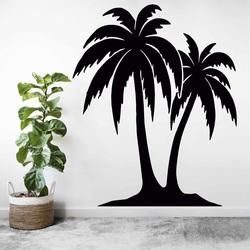 Geschnitztes Gemälde an der Wand einer Palme - TROPICAL | SENTOP