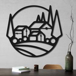 Holzgemälde an der Hauswand - MOLDE | SENTOP