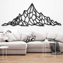 Polygonale Malerei an der Wand eines felsigen Hügels - AKVOYD | SENTOP