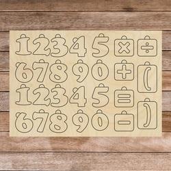 Montessori-Holz-Sinneshilfe - Mathematik | SENTOP H017 Pappel