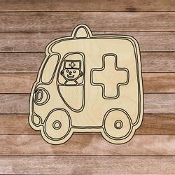 Drewniana wkładka Montessori - Pojazdy | SENTOP