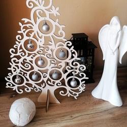 Holz Weihnachtsbaum Naturholz - 40 cm, 50 cm und 70 cm | SENTOP
