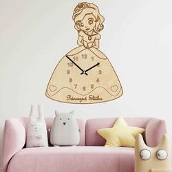 Kinderuhr aus Holz - Prinzessin mit Namen | SENTOP PR0440