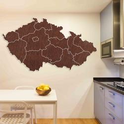 Holzwandkarte Tschechien - 14 Stück | SENTOP