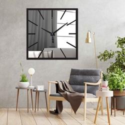 Wanduhr Sentop X0100 Plexiglasspiegel auch schwarz