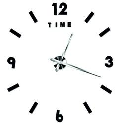 Wandtattoo Uhr Wandtattoos schwarzer Farbe.