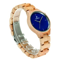Hölzerne Armbanduhr - ISABELLA