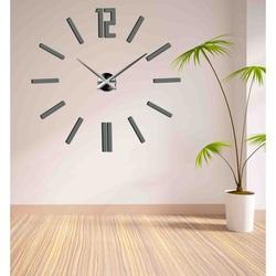 Wandtattoo Uhr Modernes Design  Wanduhr ins Wohnzimmer