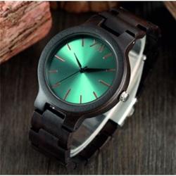 Luxus Holz Armbanduhr- Blau 12-Yisuya