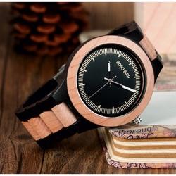Stilvolle Armbanduhr aus Holz - ASTOR