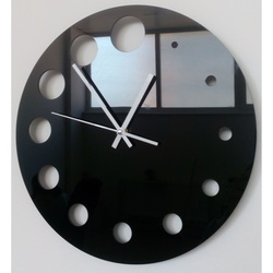 Wandtattoo Uhr Wie die Zeit verfliegt