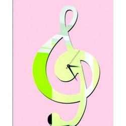 Spiegel klebrige Wanduhr - Steckschlüssel, Größe: 40 x 40 cm