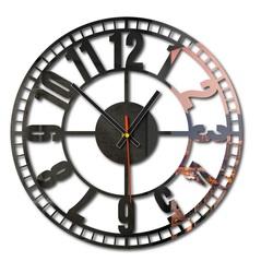 Schöne Wanduhr aus Kunststoff - Zeitmaschine