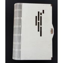 Box als Dekoration aus Holz, Größe: 17,5x12x3 cm