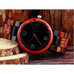 Moderne Armbanduhr aus Holz GEORGIA-Yisuya