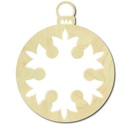 Hölzerne Weihnachtsdekoration, Größe: 8,6 cm x 7 cm