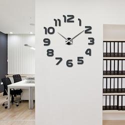 Wandtattoo Uhr Modernes Stilvolle 3D Wanduhr - LAZARE