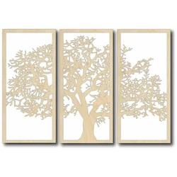 Vintage Wanddekoration - TREE, Größe: 700x478 mm