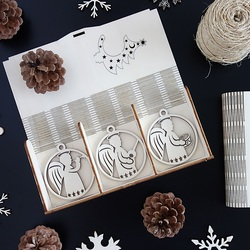 Ornamente für Weihnachtsbaum, 1 Satz-18 Stück