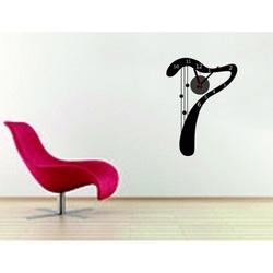 Design Wanduhr igus Luxus. 3M Folia Größe 25x35 cm
