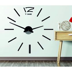 Wandtattoo Uhr an der Wand OMEGA