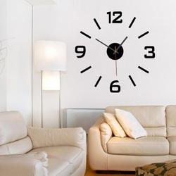 Wandtattoo Uhr Wanduhr kleben  XS SANDERO