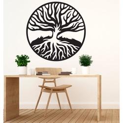 Modernes Bild von hölzernen Sperrholzwurzeln