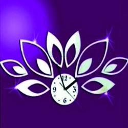 Wandtattoo Uhr Wanduhr, die an der Wand haftet MIRKA