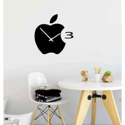 Wanduhr Kunststoff in der Küche APPLE, 35x35 cm