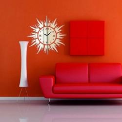 Wanduhr Sonnenstrahlen, 30x30 cm