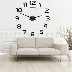 Wandtattoo Uhr Wanduhr mit großem 2D DIY PALETTE