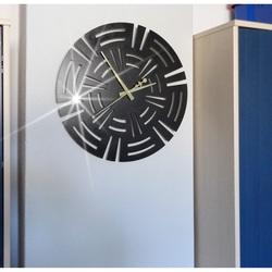 Wandtattoo Uhr Wanduhr Luxus, Designuhr an der CUNA Wand