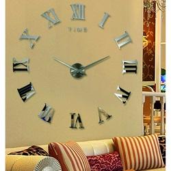 Römische Uhr Wanduhr DIY 3D Uhr an der Wand als HUGO-Bild